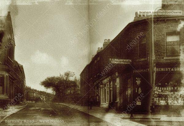 Towards Barnsley Road Wath-on-Dearne
