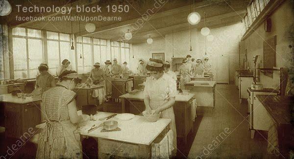 Wath Grammar School Technology Block 1950